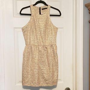 EUC Gold Zara dress